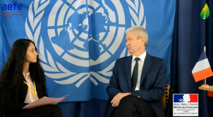 Entretien avec l'ambassadeur de France au Djibouti