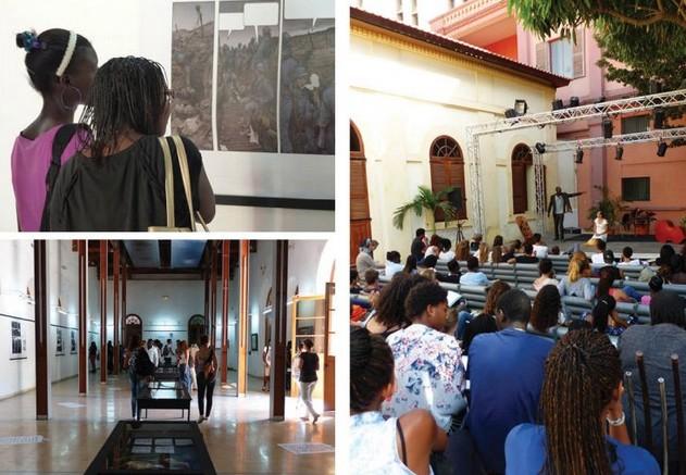 Exposition et spectacle à Dakar