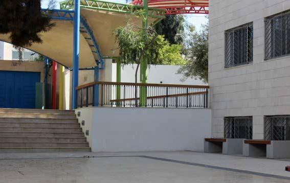 L'école primaire rénovée à Amman