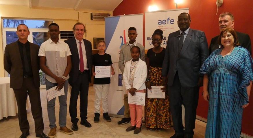 À Dakar, soutien de l'ambassadeur
