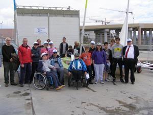 Visite à l'école de voile Sail Hability