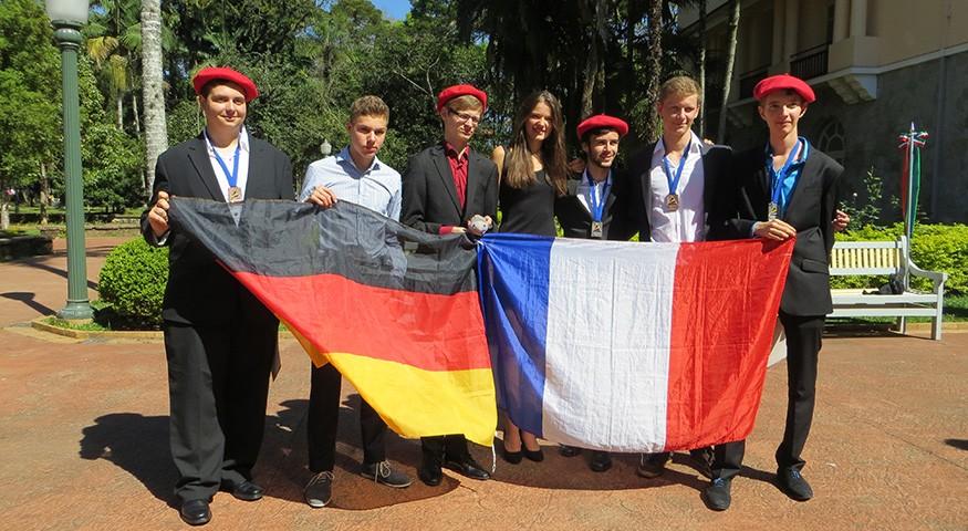 Les lauréats français et allemands aux IESO 2015