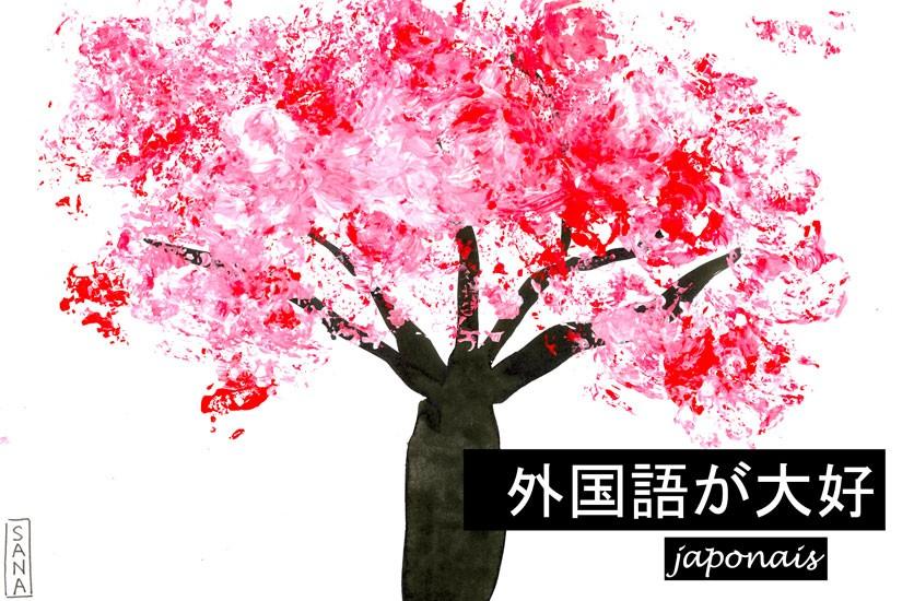 """""""J'aime les langues"""" en japonais"""