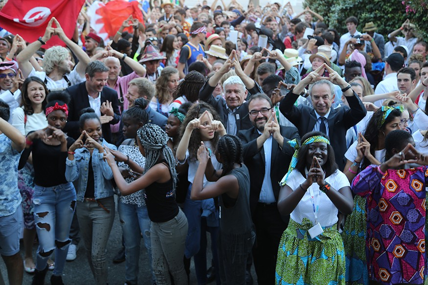 Soutien à la candidature de Paris 2024