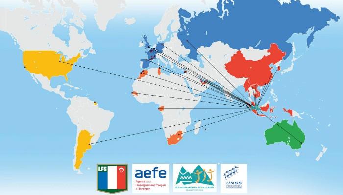 Carte des établissements participants
