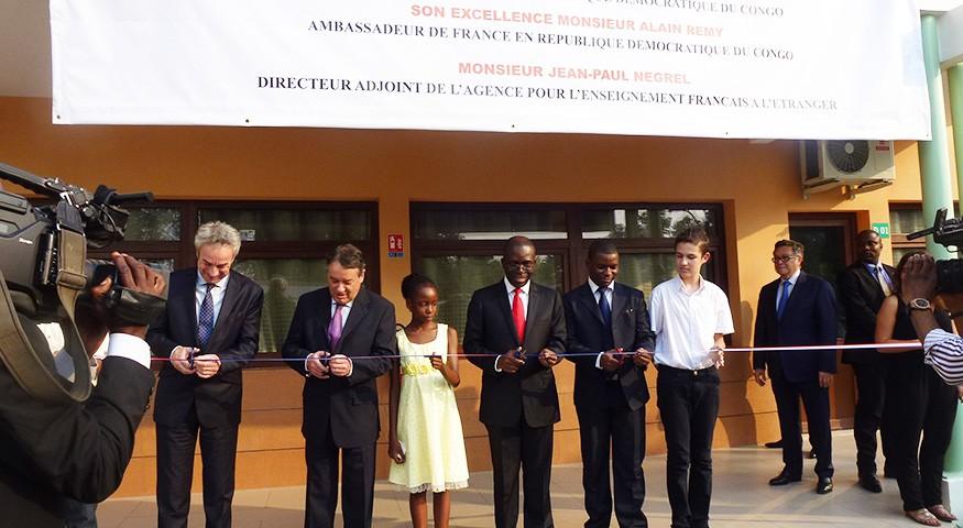 Moment inaugural à Kinshasa