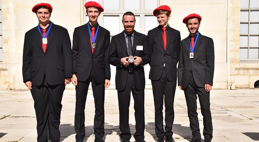 Les médaillés français