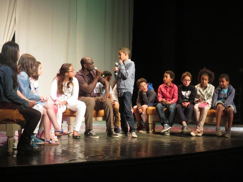 Échanges avec des élèves à Marrakech