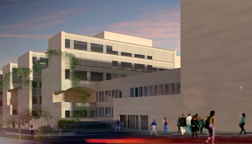 Le futur campus francophone
