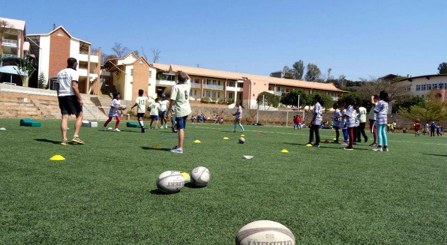 Terrain de rugby du Lycée français de Tananarive
