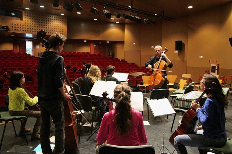 """Atelier """"violoncelles et contrebasses"""""""