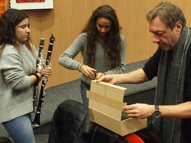 Réception d'instruments