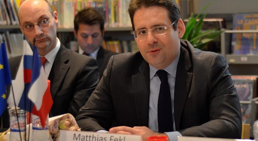 Matthias Fekl à Moscou
