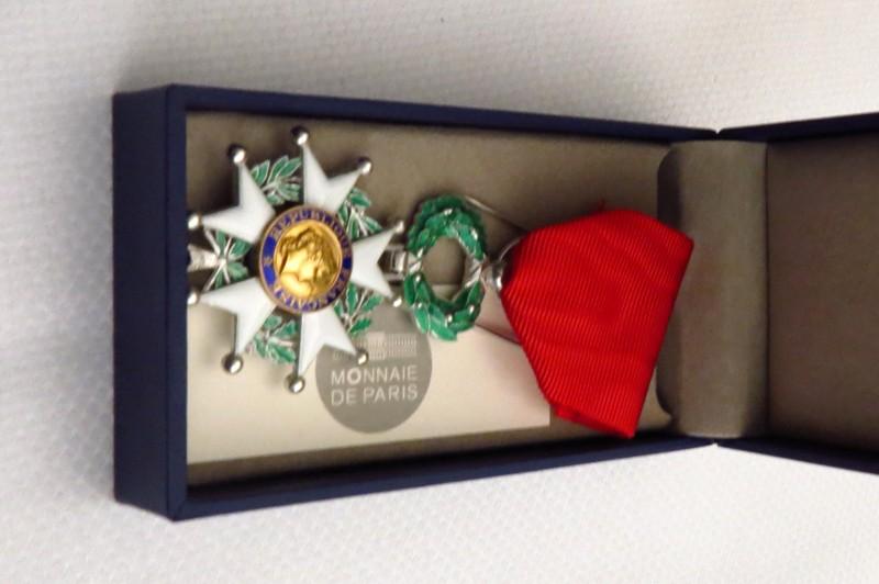 La médaille de chevalier