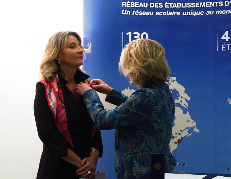 Remise de la Légion d'honneur