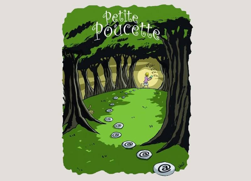 """Illustration """"Petite Poucette"""""""