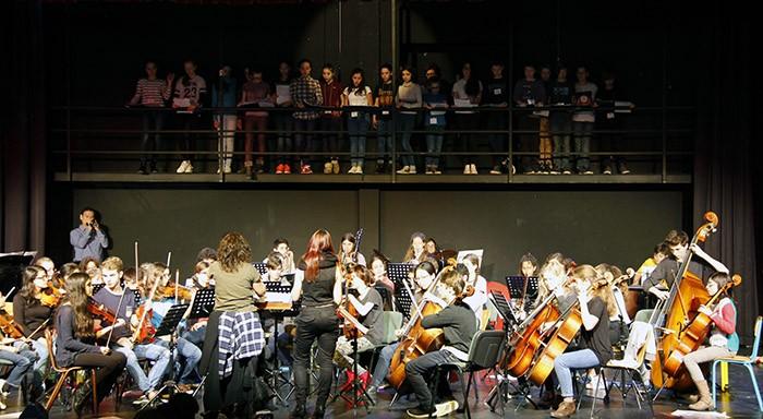 Chorale et musiciens