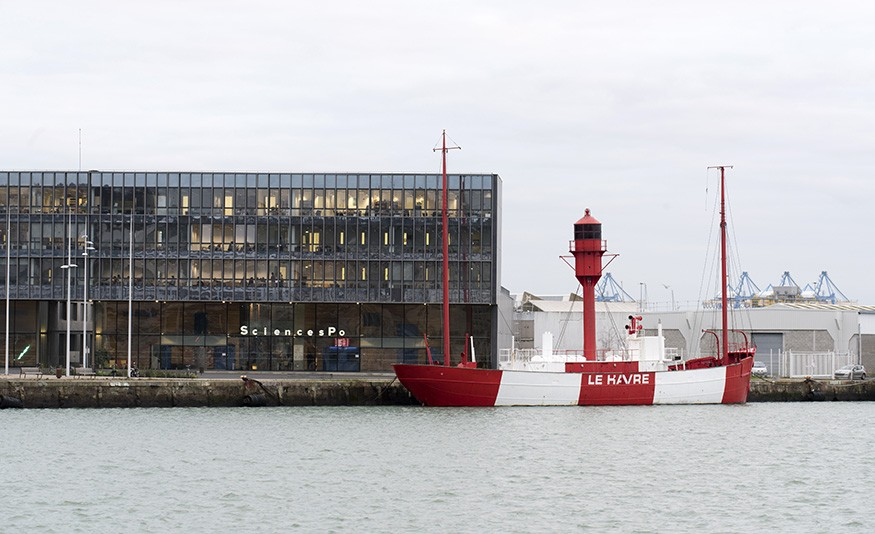 Le campus du Havre