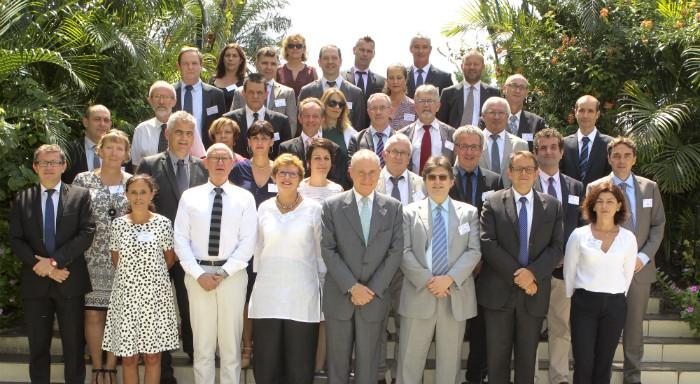 Les participants du séminaire