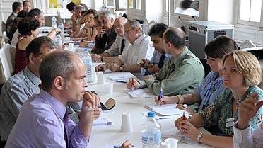 Groupe de travail lors du séminaire de Sèvres 2010