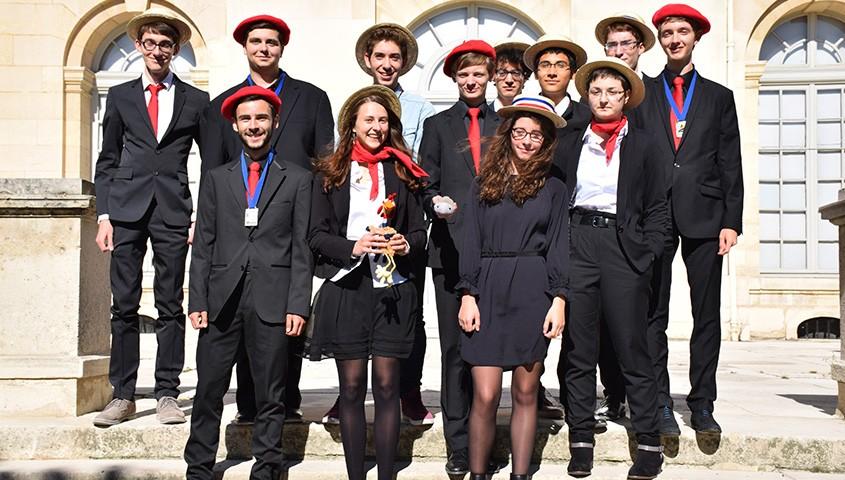 Les lauréats français des Olympiades internationales 2015