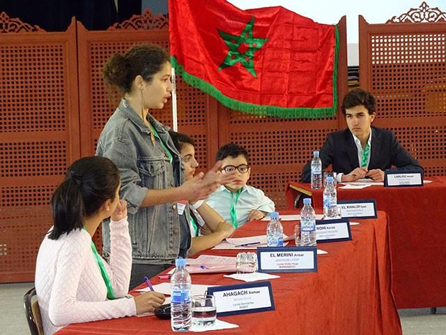 Finale régionale au Maroc