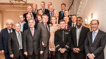 Anciens et nouveaux lauréats du prix de l' Excellence française