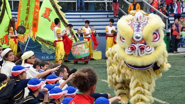 Dragon chinois en ouverture