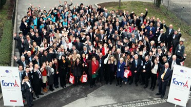 Les participants du FOMA 2013