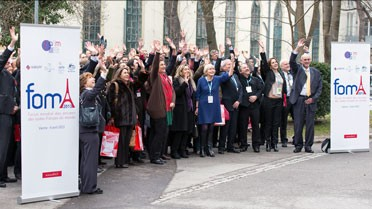 Photo de groupe  du FOMA 2013