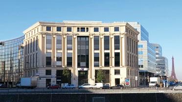 L'immeuble du 23 place de Catalogne