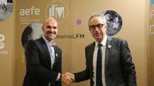 J6 de #SemaineLFM : convention signée par Pathé Live et l'AEFE au Salon européen de l'éducation