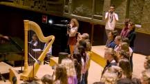 Orchestre des lycées français du monde (saison IV): regards en coulisses