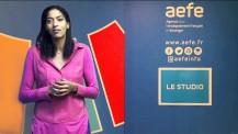 Emmeline Ndongue, ambassadrice éducation pour Paris 2024, s'adresse aux acteurs du réseau de l'AEFE