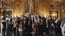 La promotion 2013-2018 des boursiers Excellence-Major à l'honneur au Quai d'Orsay
