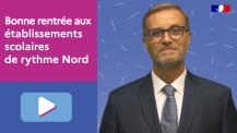 Message vidéo de rentrée 2021 du directeur de l'AEFE
