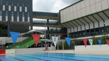 JIJ 2016 : piscine du Lycée français de Singapour