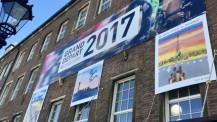 Le Lycée français de Düsseldorf fait son Tour de France : la mairie de Düsseldorf aux couleurs de la Grande Boucle