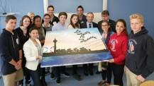Le Lycée français de Düsseldorf fait son Tour de France : les lycéens et le maire de Düsseldorf