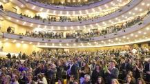 120 ans du lycée français de Montevideo : public enthousiaste