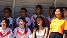 12e Tournoi de rugby à 7 de la zone Asie-Pacifique : sourires
