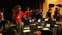 L'Orchestre des lycées français du monde (saison 4) à Madrid : préparatifs