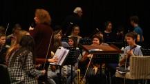 L'Orchestre des lycées français du monde (saison 4) à Madrid : les violons