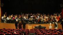 L'Orchestre des lycées français du monde (saison 4) à Madrid : répétition en tutti