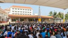 Inauguration des nouveaux locaux du lycée René-Descartes de Phnom Penh : un public nombreux