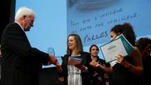 """Prix """"Non au harcèlement"""" : remise du prix de la meilleure affiche catégorie lycée"""