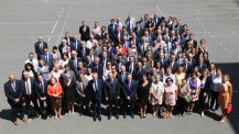 Séminaire des EGD 2018 à Paris : le groupe vu depuis les étages du lycée Louis-le-Grand