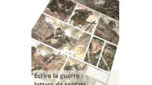 """Commémoration du 11 novembre : affiche """"Écrire la guerre, lettres de soldats adaptées en BD"""" à Vienne"""