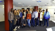 Formation de chant choral (mars 2019) : photo de groupe