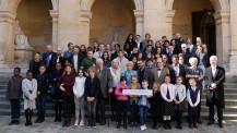 Concours des dix mots 2019 : photo de groupe